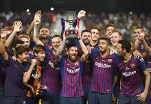 Lionel Messi wins 33rd title as Barcelona wins Super Cup