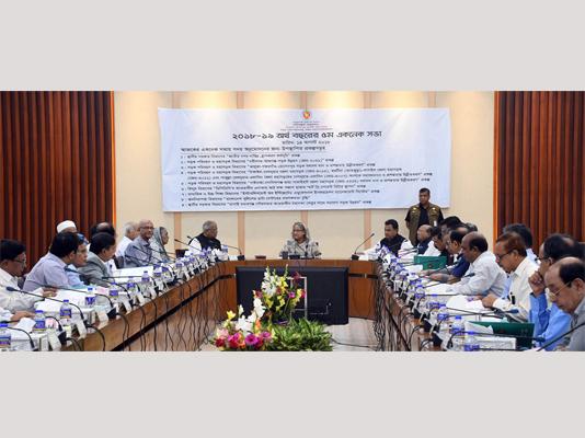 ECNEC approves Tk 826 cr livelihood programme
