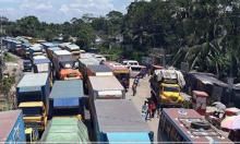 32-km tailback on Dhaka-Ctg highway