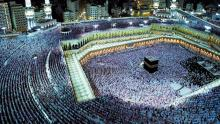 Pilgrims gather in Mecca for hajj