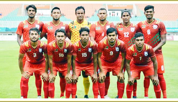 Bangladesh beat Qatar 1-0 goal in Asian Games