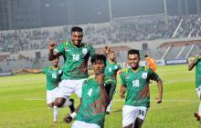 Bangladesh start SAFF campaign beating Bhutan 2-0