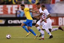 Brazil win friendly against US as Neymar, Firmino score