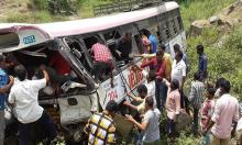 43 killed as Indian bus plunges into valley