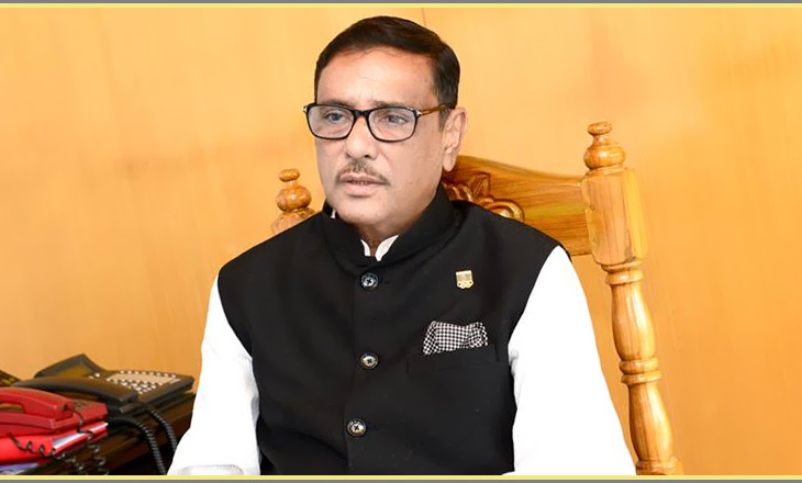 Proposed Transport Act to be placed in JS on Sunday: Quader