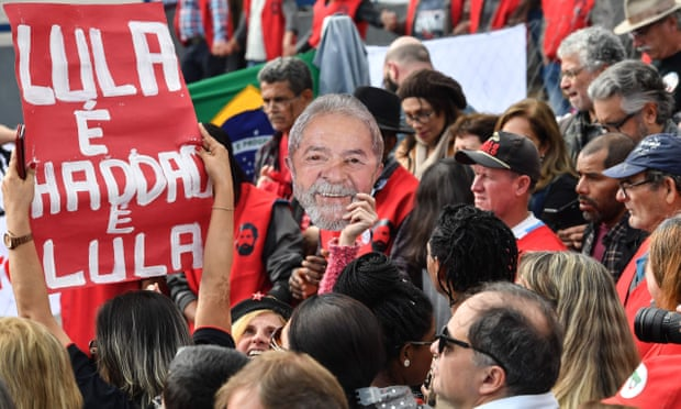Brazil's Lula quits presidential race, Haddad to run instead