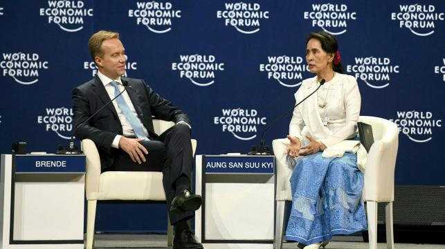 Rakhine issue could've been handled better: Suu Kyi