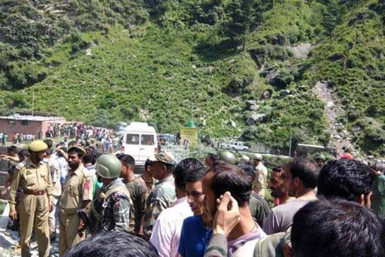 13 dead as bus Plunges over 300 feet In Jammu
