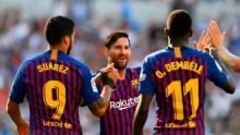 Barca fight back to beat Sociedad, Real held