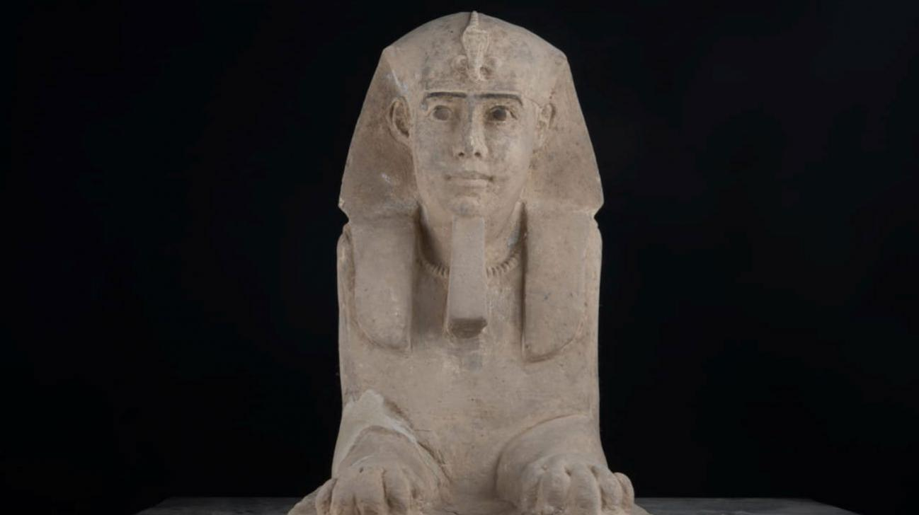 Archaeologists discover ancient sphinx in Egypt