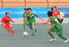 Bangladesh crush Bahrain 10-0