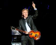 Egypt Station' takes Paul McCartney to US No. 1