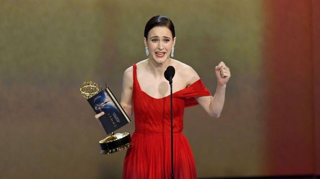 Emmys full of surprises, 'Marvelous Mrs. Maisel' dominates