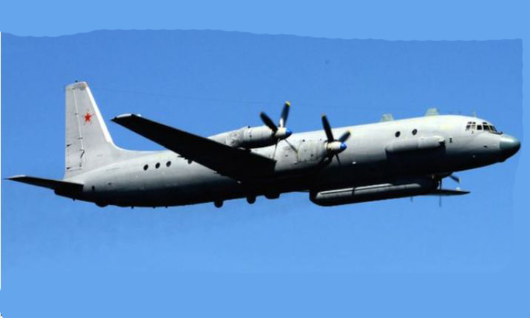 Russia's military aircraft disappears over Mediterranean Sea