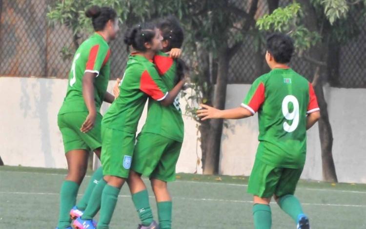 U-16 girls secure 8-0 victory against Lebanon