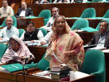 PM hints again at not holding dialogue with BNP