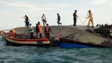 44 dead as Tanzanian ferry capsizes