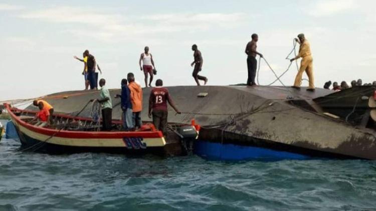 44 dead as Tanzanian ferry capsizes