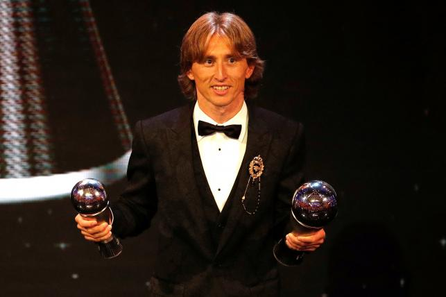 Modric named world's best, ends Ronaldo-Messi era