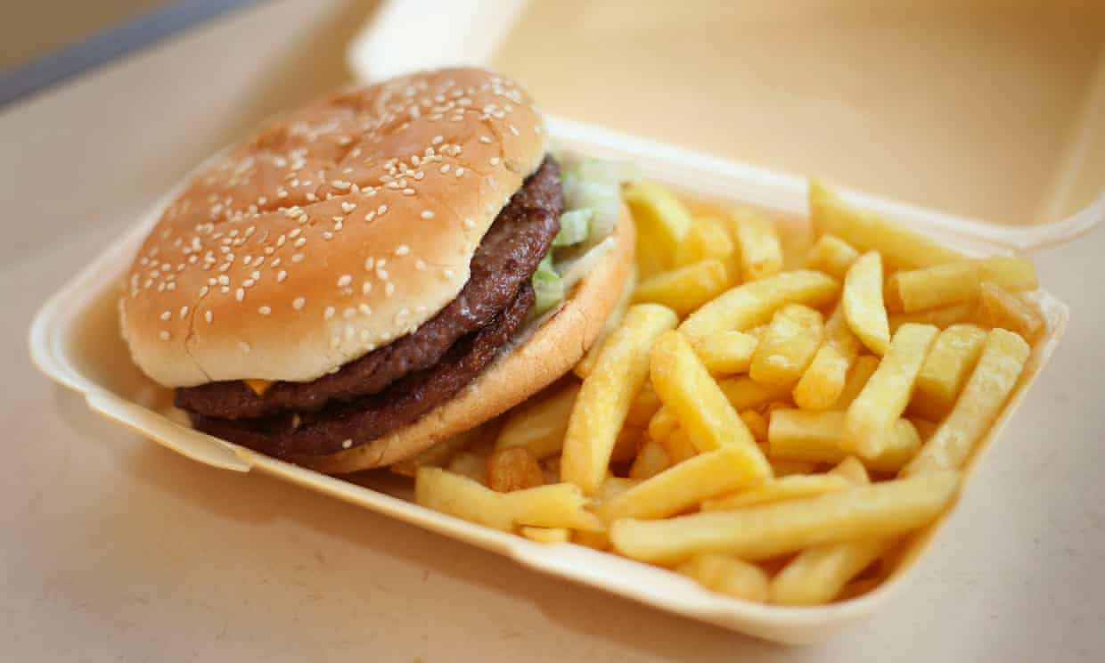 Junk food raises risk of depression