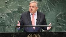 UN warns of 'chaotic' world order