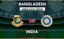 Asia Cup: India invite Bangladesh to bat first in final