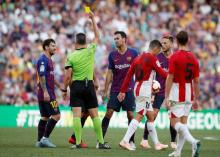 Barca's struggles continue with home draw to Bilbao