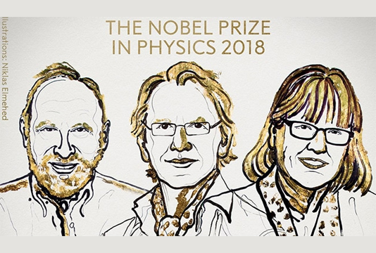Laser pioneers win Nobel Physics Prize