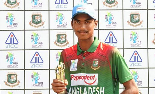 Bangladesh beat Hong Kong by 5-wicket in U-19 Asia Cup