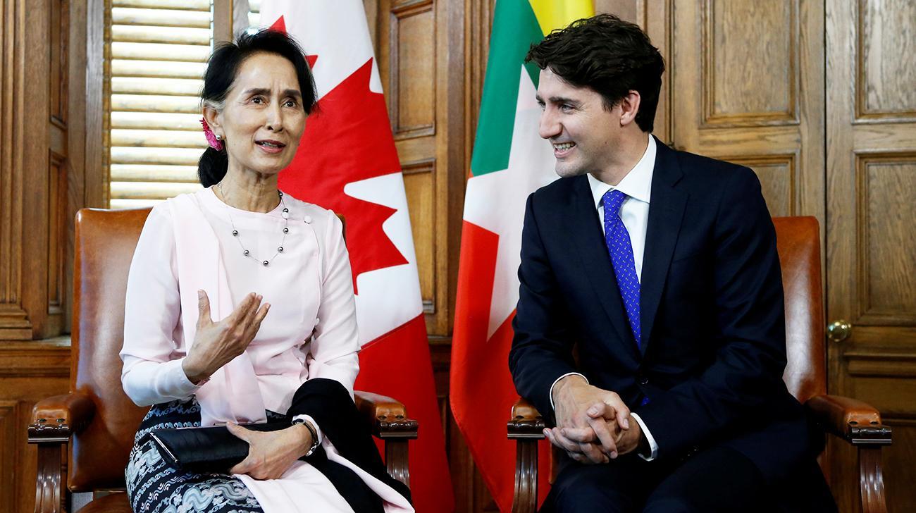Canada revokes Myanmar leader's honorary citizenship