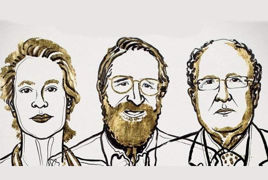 Trio win Nobel Chemistry Prize for evolution research