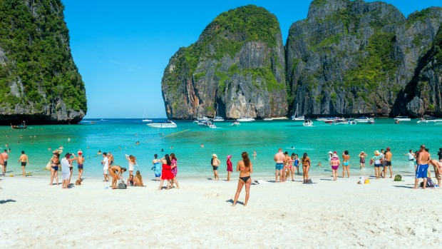 Thailand bay made famous by The Beach closed indefinitely
