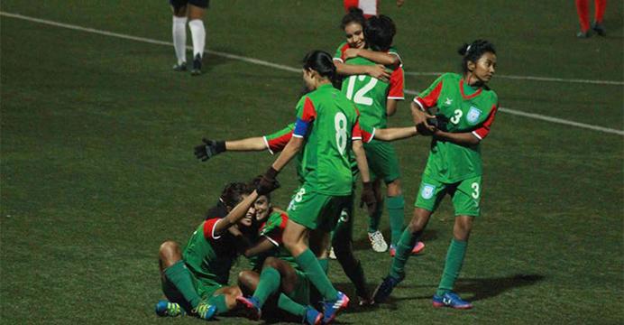 Bangladesh clinch maiden SAFF U-18 Women's Championship title