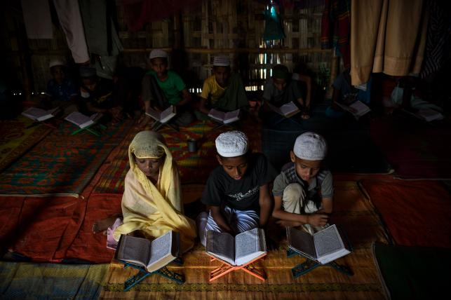 Madrasa a place of prayer and peace for Rohingya kids