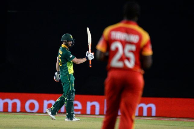 South Africa complete ODI whitewash over Zimbabwe