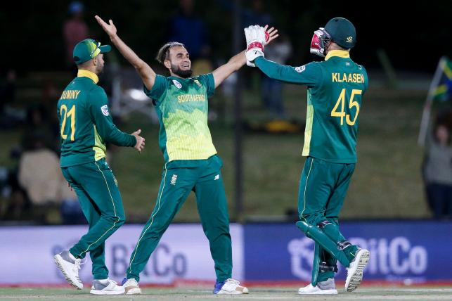 Tahir bowls Proteas to victory in 1st T20