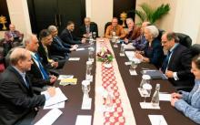 IMF summit shaken as strong quake hits Indonesia