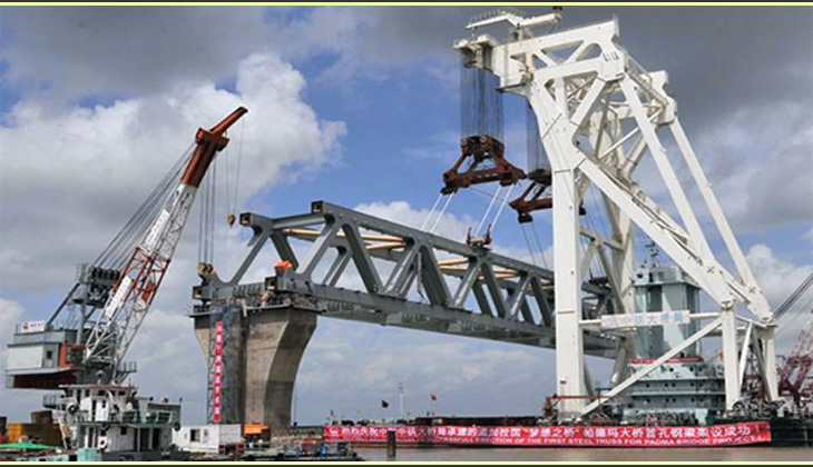 PM to visit Padma Bridge construction site Sunday