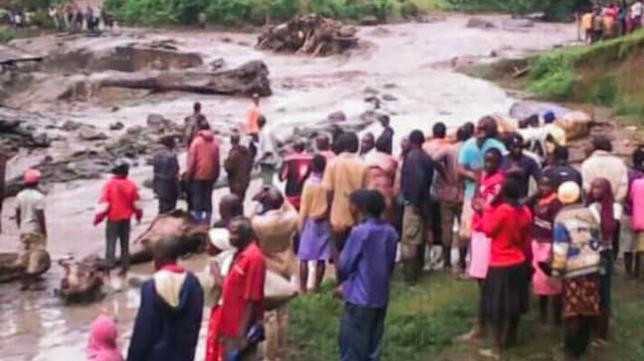 Landslide in eastern Uganda destroys homes, killing at least 31