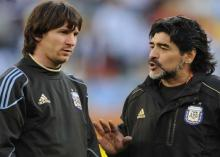 Messi goes to toilet 20 times before a game: Maradona