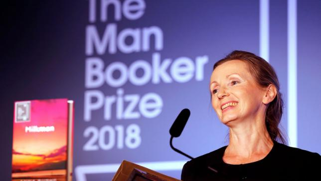 Northern Irish author Anna Burns'