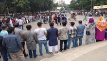 BCL, students demand retake of DU Gha unit intake test