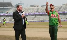 Bangladesh win toss, opt to bat in first ODI against Zimbabwe