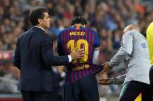 Messi injury discolours Barca victory