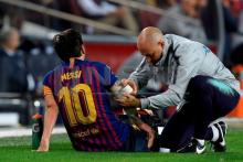 Messi injury gives Barca and Dembele chance to prove their worth