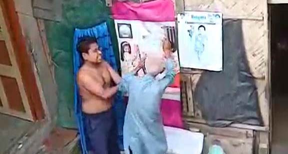 India police arrest man for slapping father repeatedly