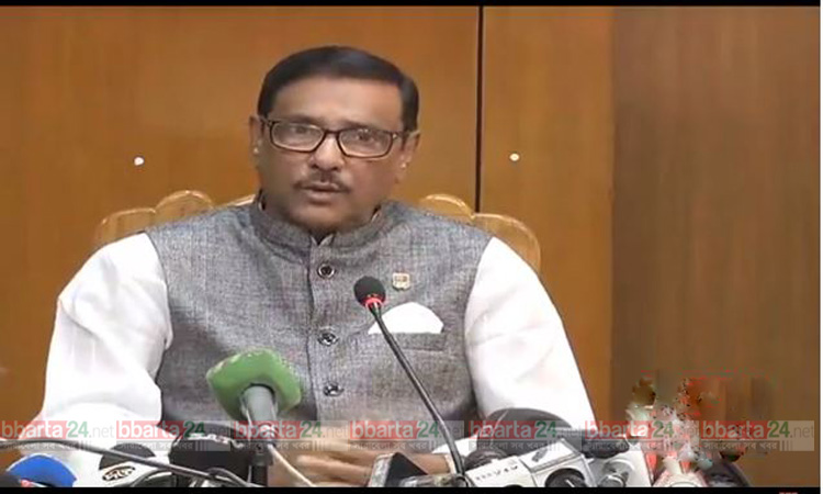 AL agrees on talks with Oikyafront to uphold democratic trend: Quader