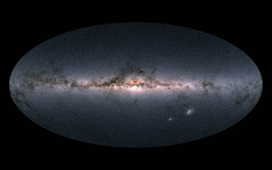 Galaxy 'mega-merger' 10 bn years ago forged Milky Way