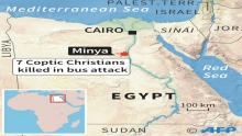 7 dead in attack on bus carrying Coptic Christians in Egypt
