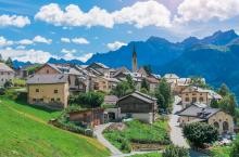 The small town beauty of Switzerland
